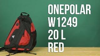видео Рюкзак Onepolar - 1249 зеленый