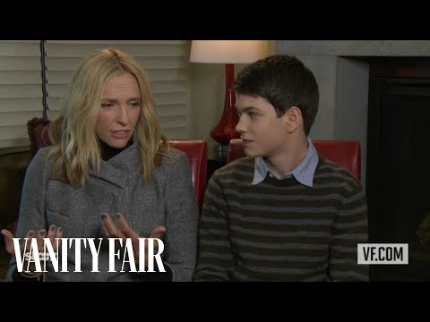 Toni Collette and Liam James Talk to Vanity Fair's Krista Smith About