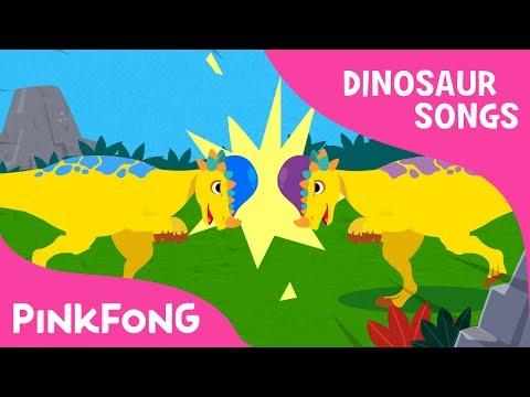 Pachycephalosaurus | Dinosaur Songs | Pinkfong Songs for Children