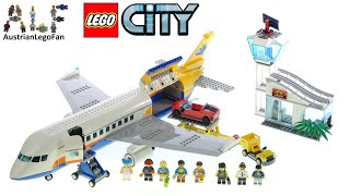LEGO City 60262 Passenger Airplane - Lego Speed Build Review
