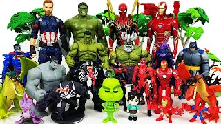 Avengers vs Venom! Go~! Spider-Man, Hulk, Iron Man, Captain America, Grinch, Dragon, Miles Morales
