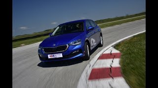 SKODA Scala - Test on track NAVAK by SAT TV Show