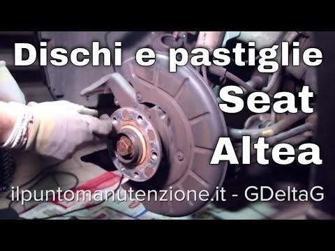 Cambio dischi e pastiglie anteriori Seat Altea 1.6 2007