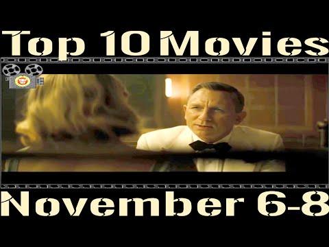 Top 10 Movies - Box Office, November 6 - 8, 2015