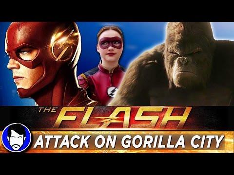 "The Flash Season 3 Episode 13 ""Attack on Gorilla City"" Review & Recap!"