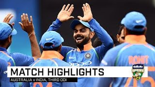 Dhoni, India seal tense ODI series win