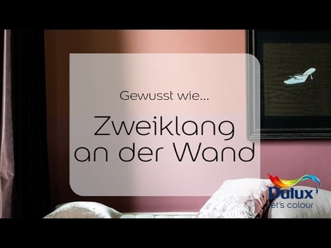 gewusst wie zweiklang an der wand youtube. Black Bedroom Furniture Sets. Home Design Ideas