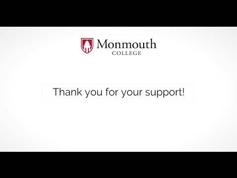 Thank You from Monmouth College