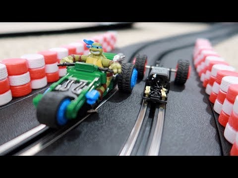 FIXING OUR $1 TMNT CARRERA SLOT CARS?