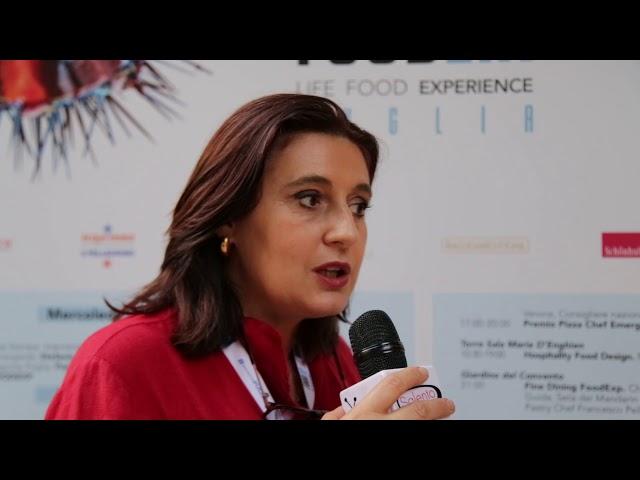 INTERVISTE FOODEXP PUGLIA ORIGINI 2018 LECCE - LORENZA VITALI