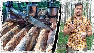 Нож Bushcraft America от Beaver Knife. [Тест по Честному]