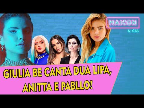 GIULIA BE: ENCONTRO COM MAROON 5 NO ROCK IN RIO IMITANDO SHAKIRA BRITNEY E LORDE  Maicon Santini