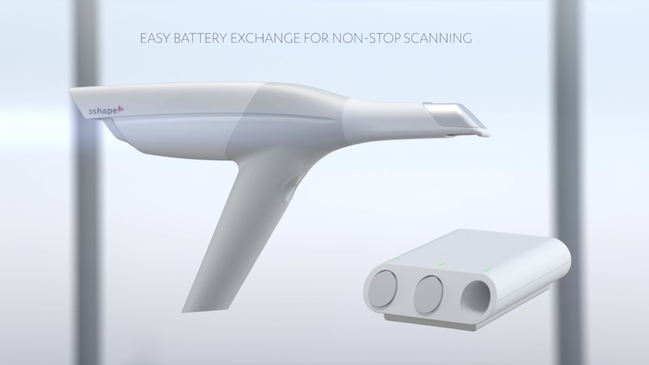 3Shape TRIOS intraoral scanners