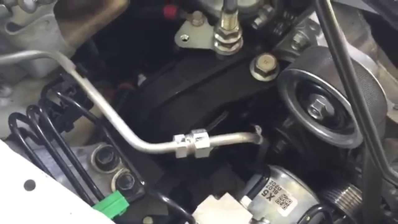 08 Civic Si - Motor Mounts - YouTube