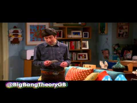 TBBT S07E02 - Howard turning into a woman...