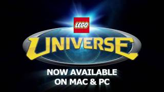 Official LEGO Universe Build Nexus Tower HD video game trailer - PC
