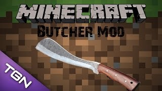 Minecraft Mod รีวิว - Butcher Mod