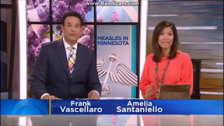 Flat Earth - TV Anchor lies about vaccinated & unvaccinated cases in Minnesota Measles Outbreak