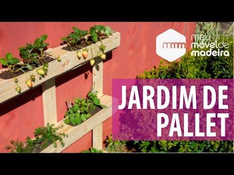 DIY Especial Primavera - Jardim De Pallet