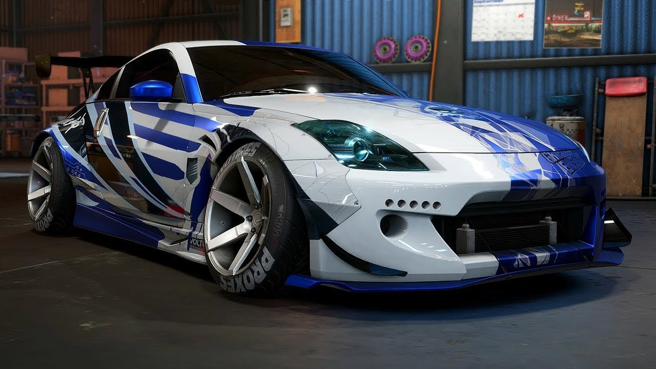 Gtr Alpha 12 >> NISSAN 350Z DRIFT BUILD - Need for Speed: Payback - Part ...