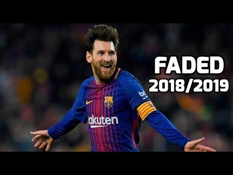 Lionel Messi - Faded | Dribbling Skills &...