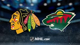 Wild score six to down Blackhawks in Stadium Series