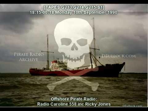 [G213-G215-EDIT] Caroline 558 ~ 10/09/1990 ~ Offshore Pirate Radio