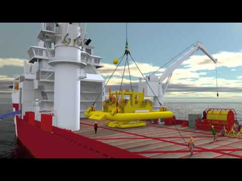 Offshore Oil and Gas 3D Animation - Oceanworx ltd