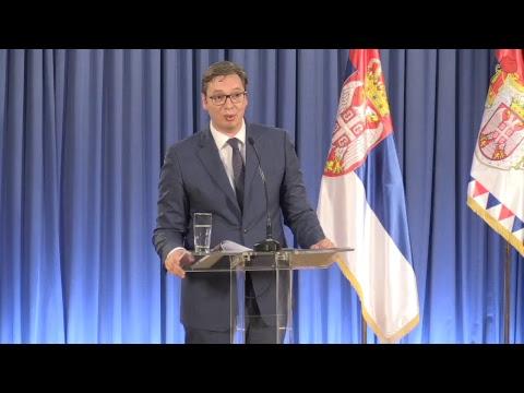 Vučić saopštava ime premijera