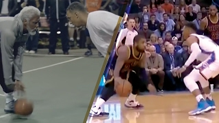 Kyrie Irving Pulls an UNCLE DREW vs Russell Westbrook w/ VICIOUS Crossover