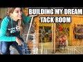 BUILDING MY DREAM TACK ROOM!!!