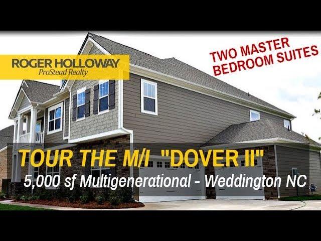 Two Master Suites Dover Ii Multigenerational Mi Homes In Weddington Nc Youtube