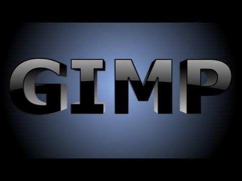 GIMP Text Effects - 3D Text - YouTube