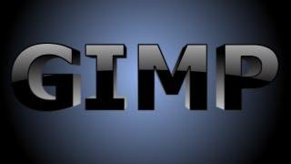 GIMP Text Effects - 3D Text
