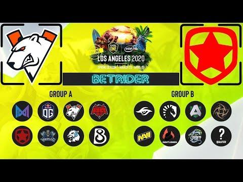 [Dota 2 Live]🔴Virtus.Pro (VP) vs Gambit Esports (Гамбит) [RU] ESL ONE Online  BO3 