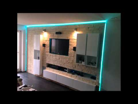 geile hifi tv anlagen wohnw nde youtube. Black Bedroom Furniture Sets. Home Design Ideas