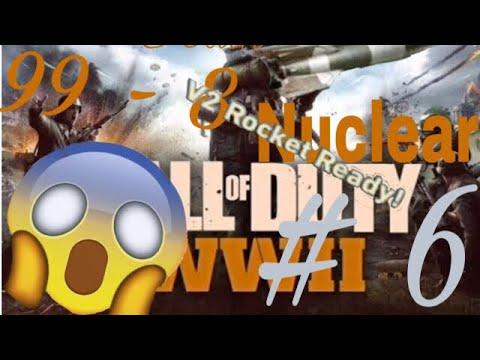 Call of duty WWII La Mejor patida, V2 Rocket x3 y Casi me la saco por segunda vez!! 99-8