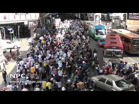 Thailand Protest Anti-Government May 9th in Bangkok #2 09.05.2014