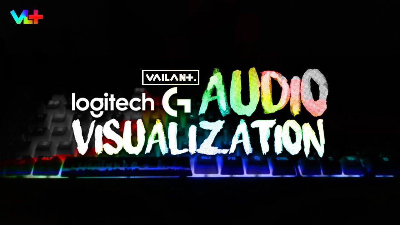 Tutorials - Logitech Keyboard Audio Visualization - YouTube