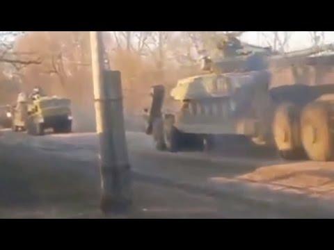 Ukraine War - OSCE does not notice Russian army equipment in Donetsk Ukraine