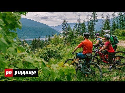 Mountain Biking across the Kootenays with Pinkbike