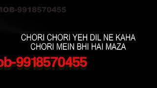 Chori Chori Jab Nazrein Mili Karaoke Video Lyrics Kareeb (1998) Kumar Sanu ; Sanjeevani