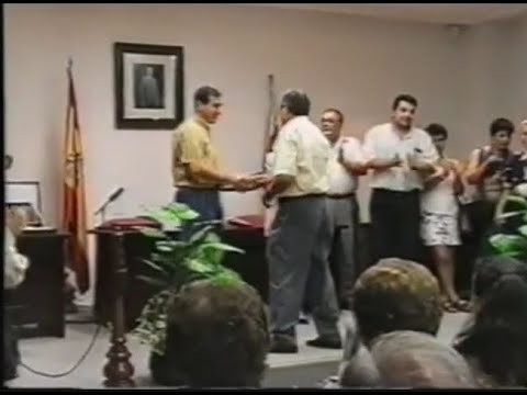 Reconocimiento Ayuntamiento Sax (Julio 1997) - Sociedad Unión Musical y Artística de Sax