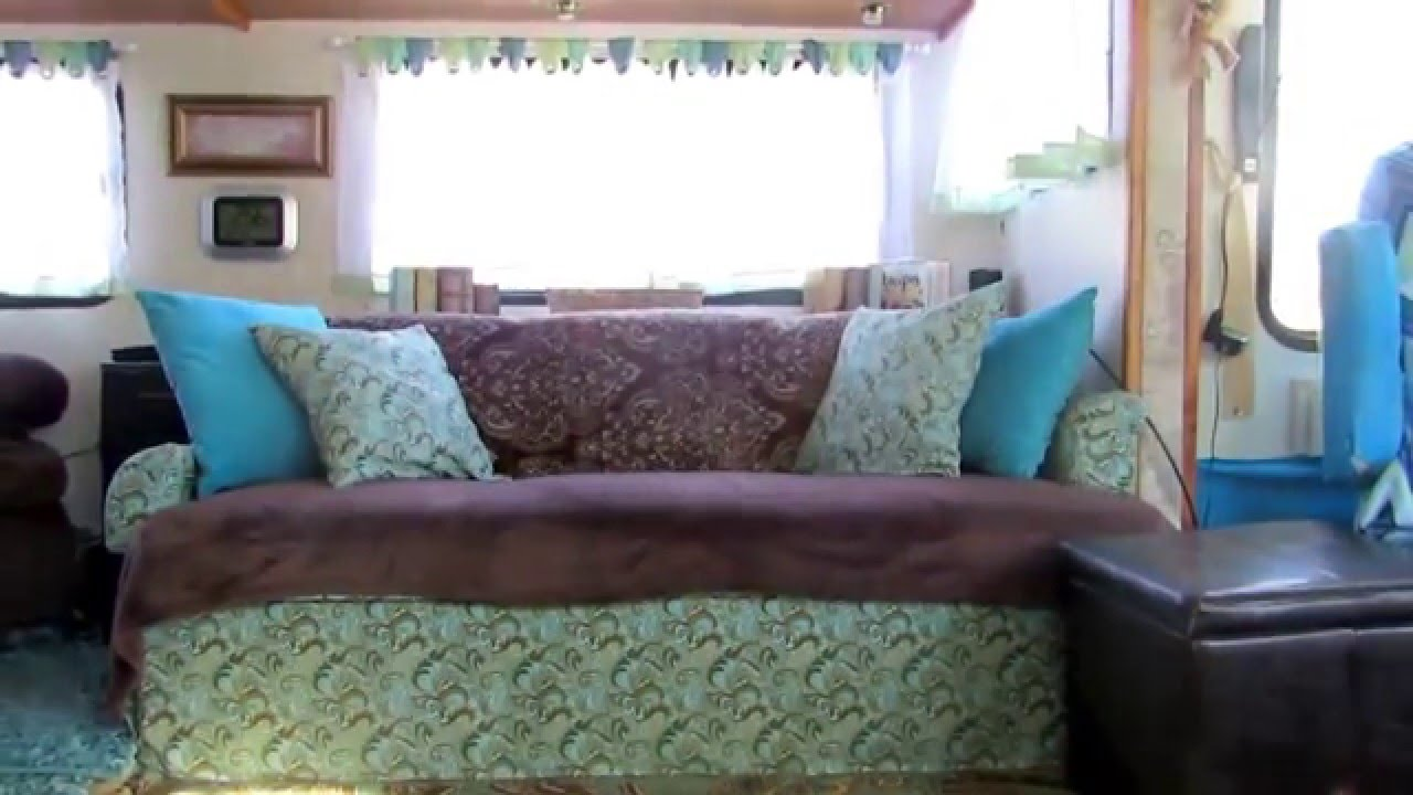 jackknife sofa for rv convertible beds india motorhome jack knife recover youtube