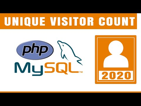 Unique Visitor Count In PHP And MySql | PHP Tutorial