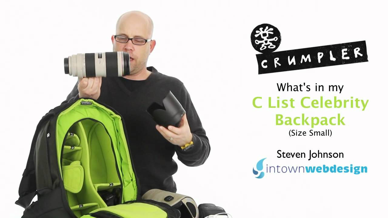 Crumpler unveils rugged C-List Celebrity bag - ALC