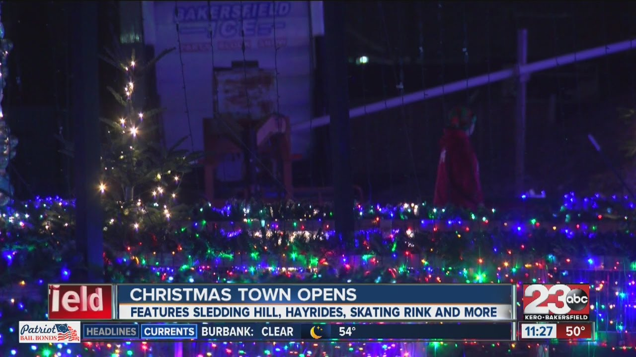 christmas town in northwest bakersfield opens - Bakersfield Christmas Town