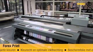 Digitaal drukken op Forex Print