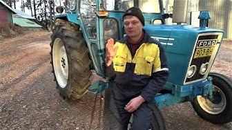 Traktorin huolto. Service Ford 4600 and 5000