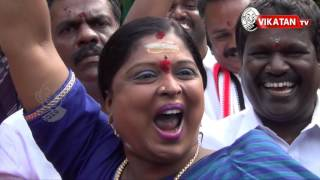 Amma is back! AIADMK cadres break into celebrations|TN Election 2016 Results